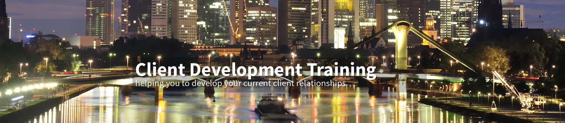 Client Development Training